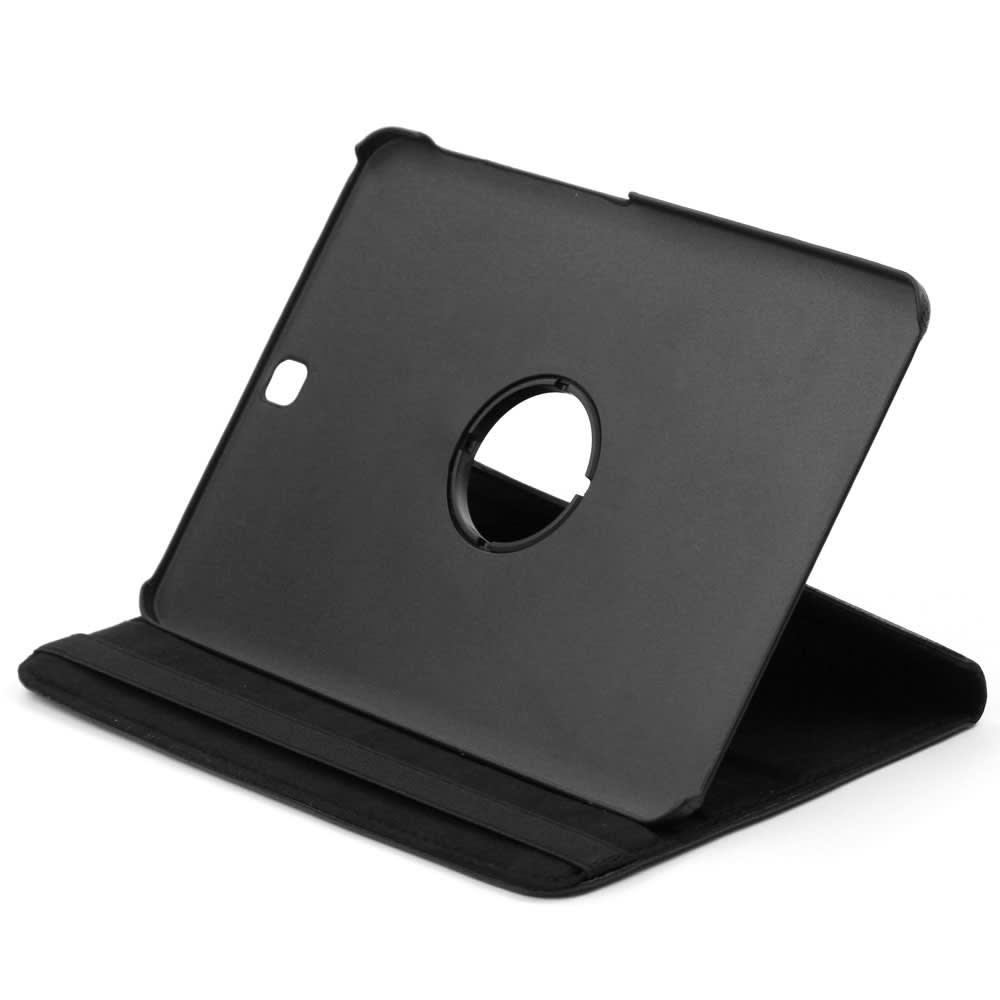 Etui Smart Case pour Samsung Galaxy Tab S2 8.0 (SM-T710 / SM-T713 / SM-T715 / SM-T719) - Cuir synthétique, noir Housse Pochette