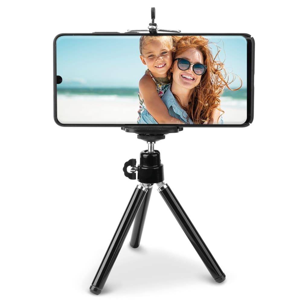Mini trépied léger 80g pour appareil photo, webcam, caméra (1/4