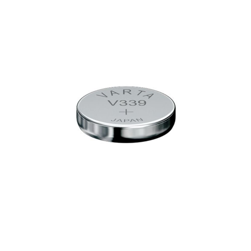 Uhrenbatterie Varta V339 SR614SW 339 (x1) Knopfbatterie Knopfzelle Zellenbatterie