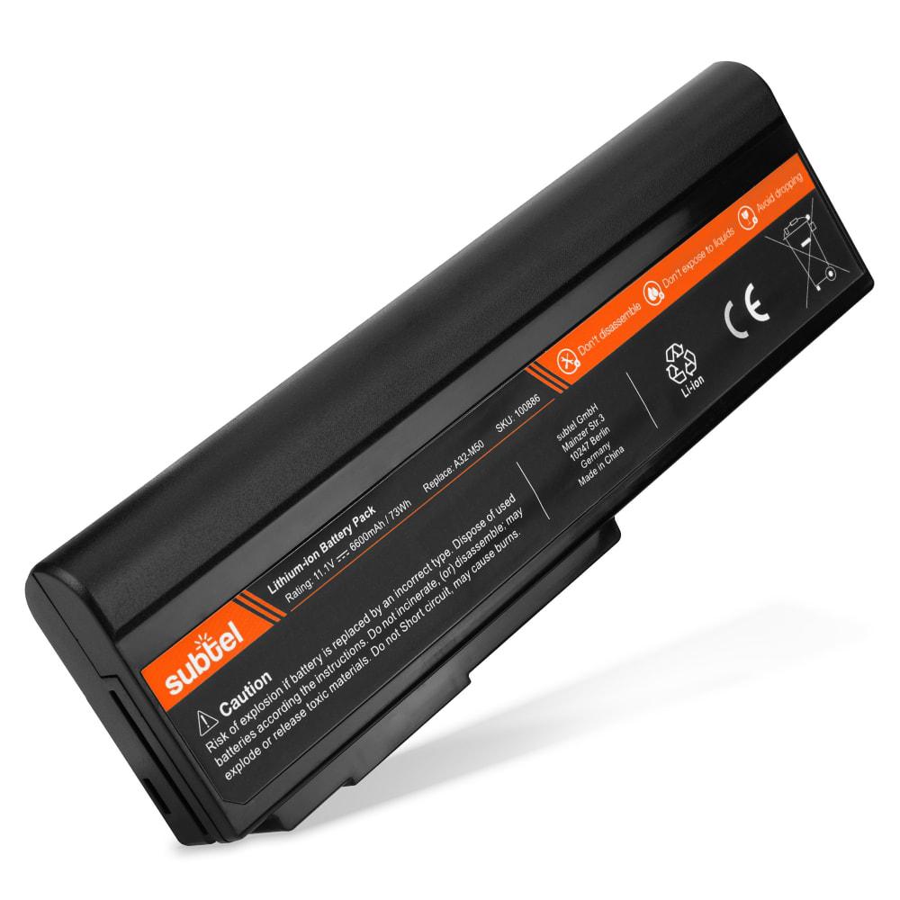 Batería para ASUS G50 / G51 / G60 / L50 / VX5 / M50 / M60 / X55S / X57V - A32-M50 (6600mAh) Batería Reemplazo