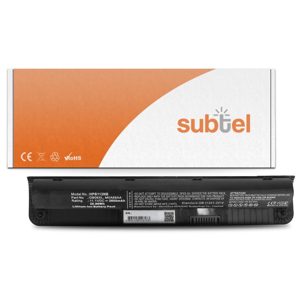 Batterie de remplacement pour ordinateur portable HP ProBook 11 EE G1 / G2 - DB06XL, HSTNN-LB6Q 2700mAh