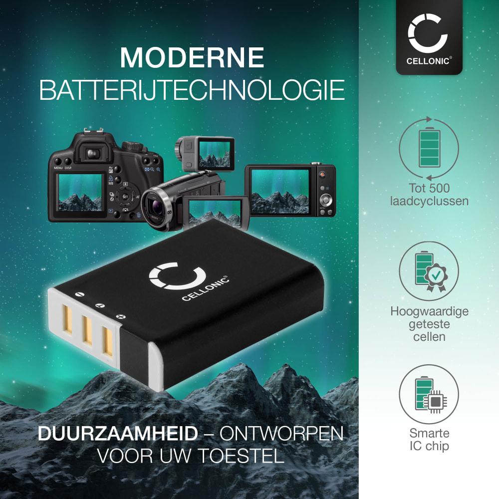 Batterij voor Ricoh A12 28 mm F2.5 A12 50 mm F2.5 A12 Mount A16 24-85 mm F3.5-5.5 GXR P10 28-300 mm F3.5-5.6 VC S10 24-72 mm F2.5-4.4 VC camera - DB-90 1800mAh DB-90 Vervangende Accu voor fototoestel