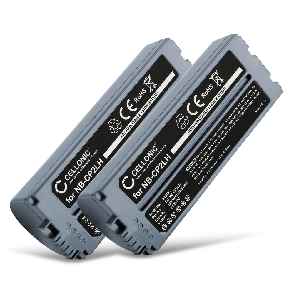 2x Batterie Pour Canon Selphy Cp1200 Cp1000 Cp1300 Selphy Cp910 Cp900 Selphy Cp800 Selphy Cp510 Nb Cp2lh Nb Cp2l 1200mah Batterie De Remplacement