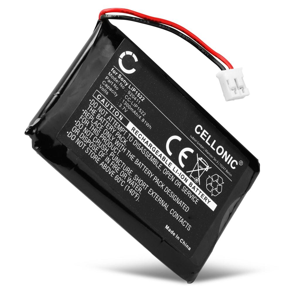 Akku für Playstation 4 Controller V1 (2013) - DualShock 4 LIP1522 (1300mAh), Ersatzakku für Controller PS4 erstes Modell