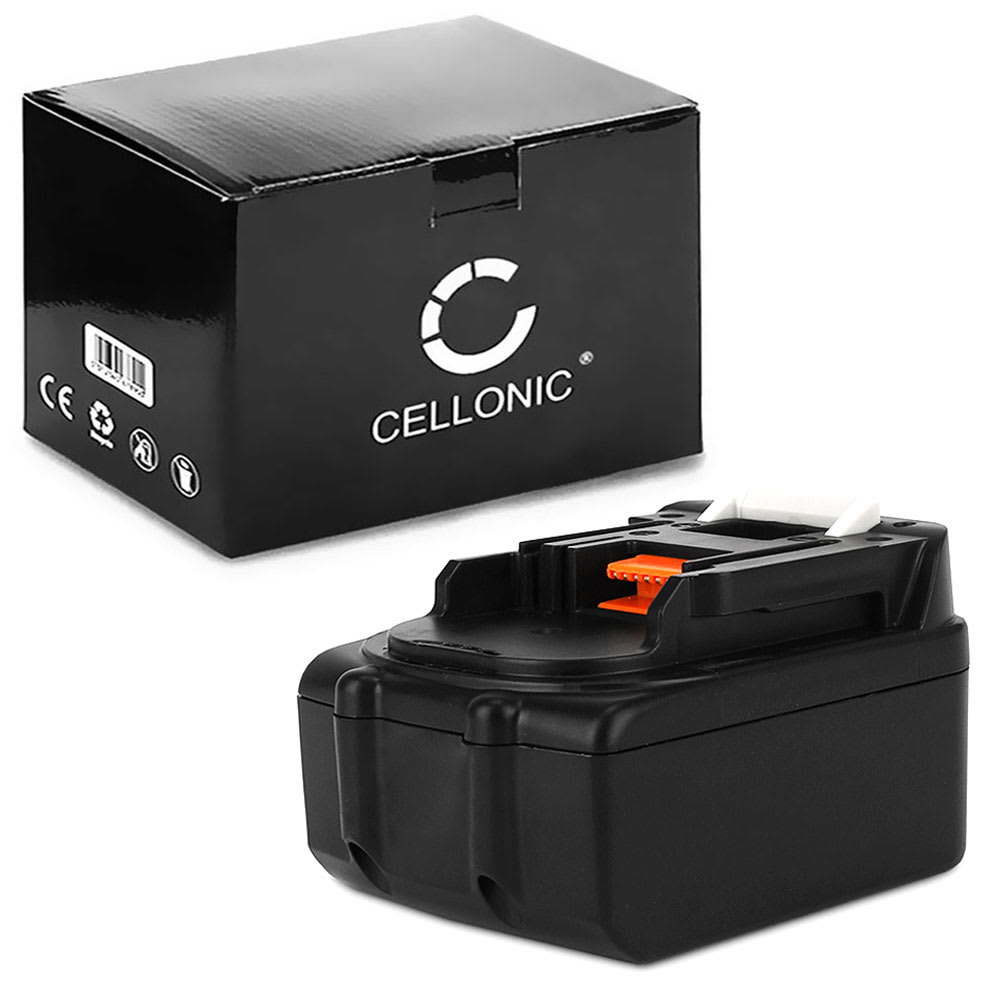 CELLONIC® 18V Li Ion Power Tool Battery for Makita DMR115, DMR112, DDF482RFJ, DUR181Z 3Ah BL1850B, BL1850, BL1830, BL1860B, BL1815 Battery Replacement