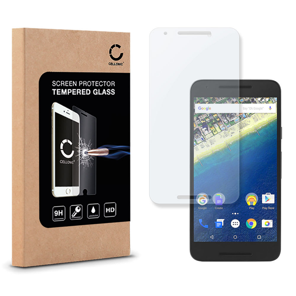 Panzerglas LG / Google Nexus 5X (H791) (2.5D, 9H, 0,33mm, Full Glue) Displayschutz Tempered Glass