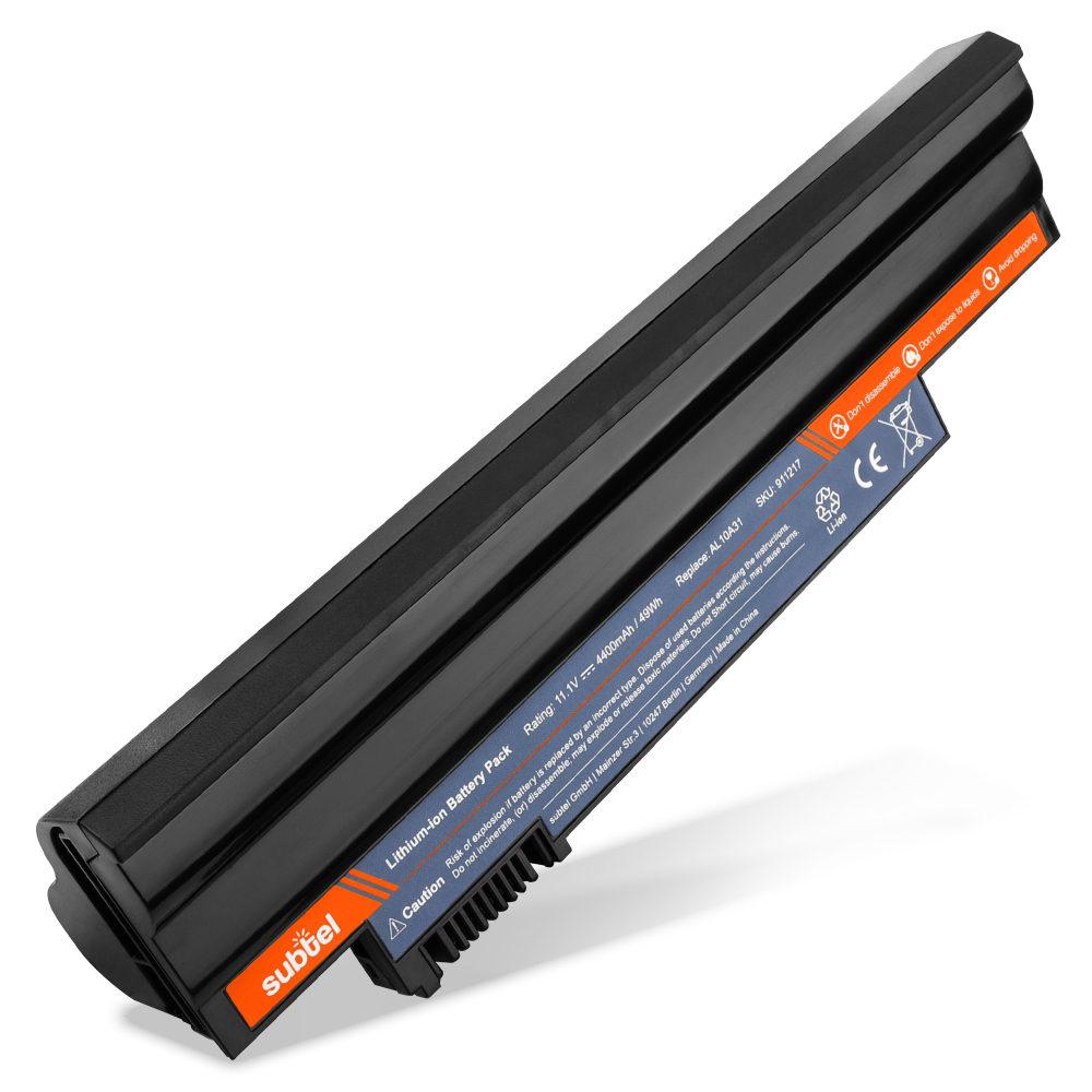 Batería para Acer Aspire One 522 (AO522) / 722 / D255 (AOD255) / D257 / D270 - AL10A31 (4400mAh) Batería Reemplazo