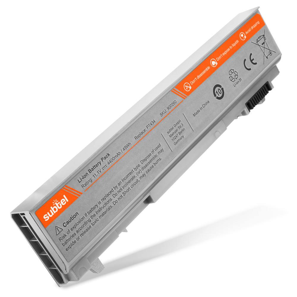 Batería para Dell Latitude E6400 / Latitude E6400 ATG / Latitude E6500 / Latitude E6510 / Precision M2400 - PT434 (4400mAh) Batería de Reemplazo