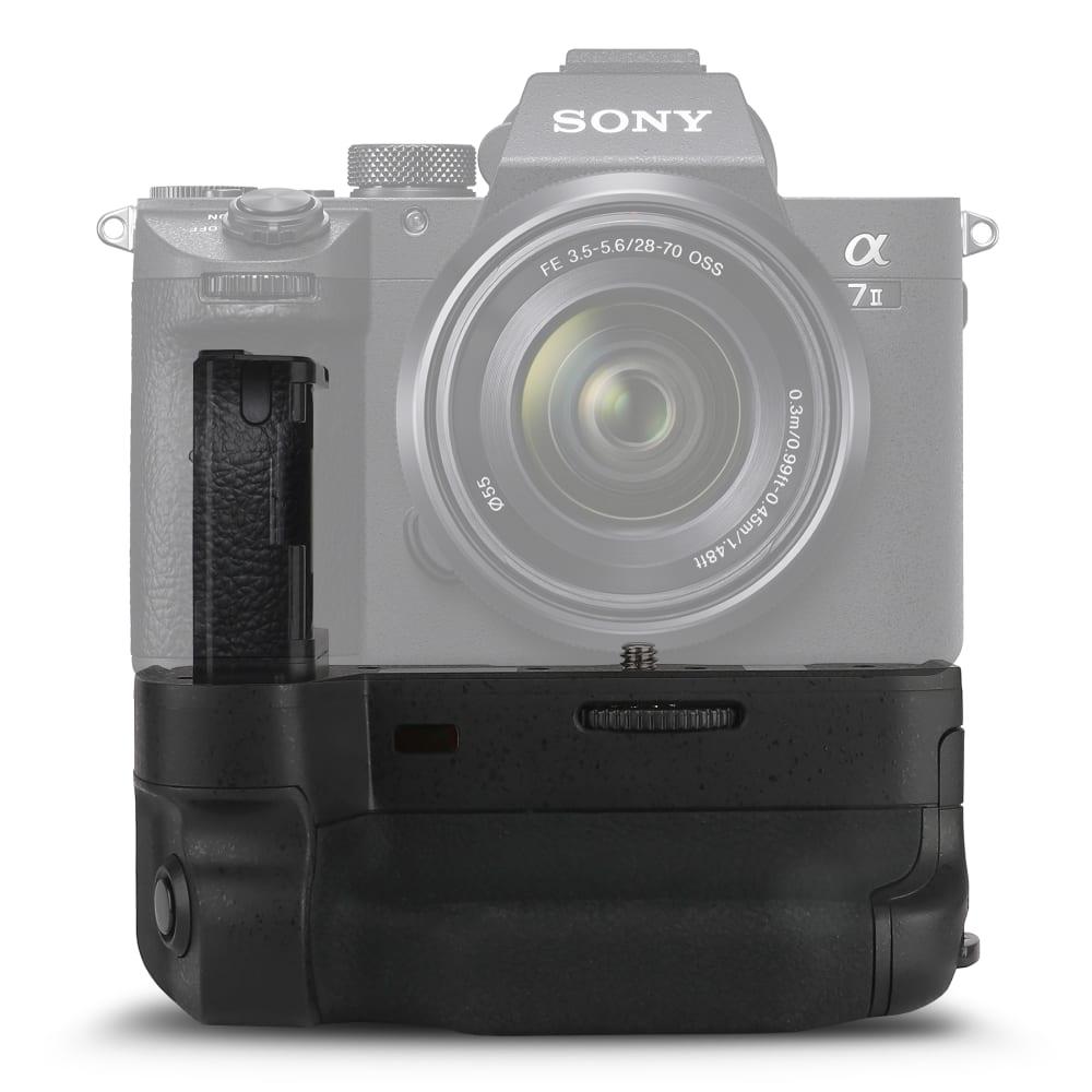 subtel® VG-C2EM Grip d'alimentation pour Sony A7 II ILCE-7M2 Alpha 7 II, Sony A7R II ILCE-7RM2 Alpha 7R II, A7S II ILCE-7SM2 Alpha 7S II Poignée de batterie, Batterie-grip