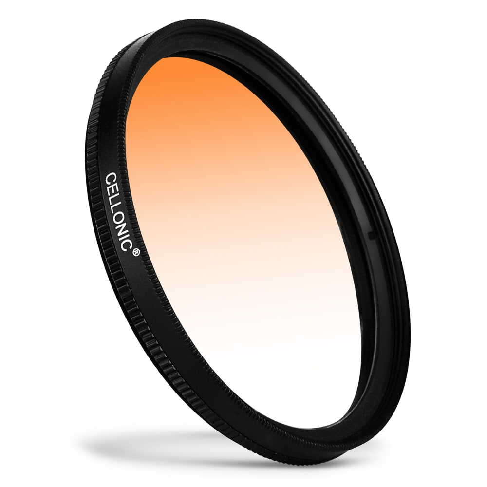 Farbverlauf Filter Orange für Ø 72mm Verlauffilter Verlaufsfilter
