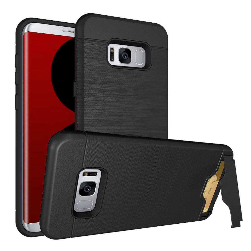 Backcover für Samsung Galaxy S8 Plus (SM-G955) - TPU, schwarz Tasche, Case, Etui, Hülle