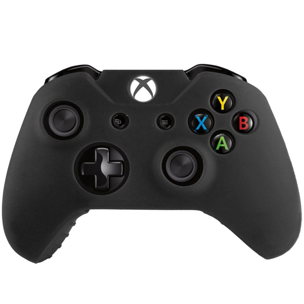 Silicone Case for Microsoft Xbox One, One Elite Controller - Silicone, Black Case