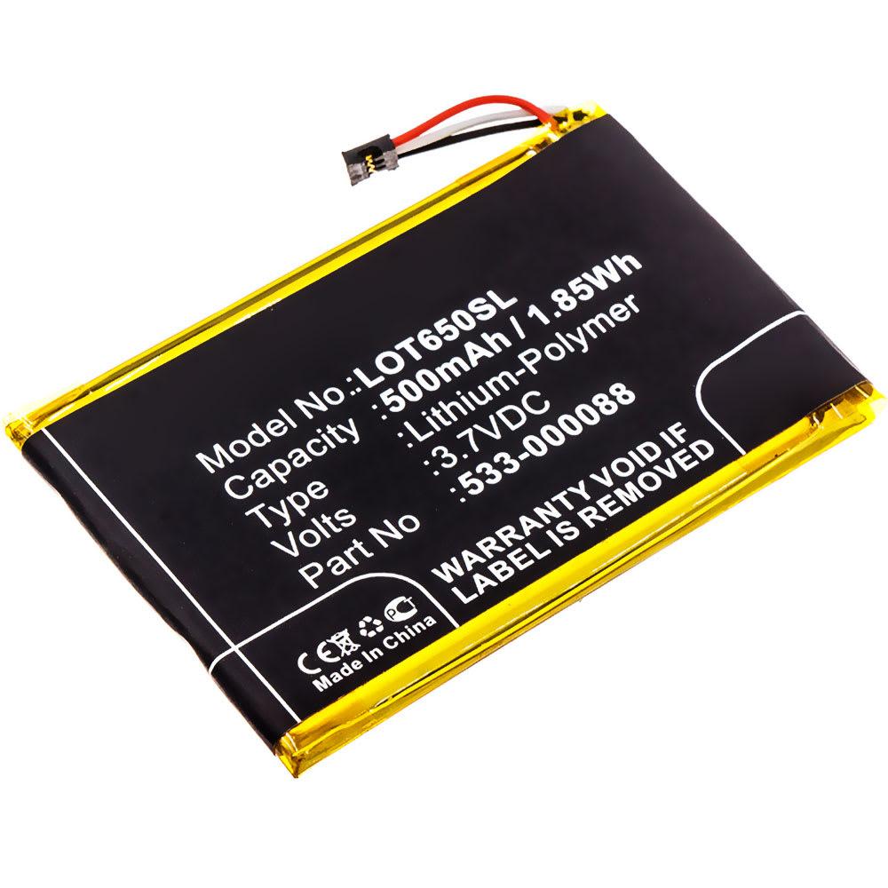 Batterie pour Logitech MX Master / Touchpad T650 - 533-000088 500mAh
