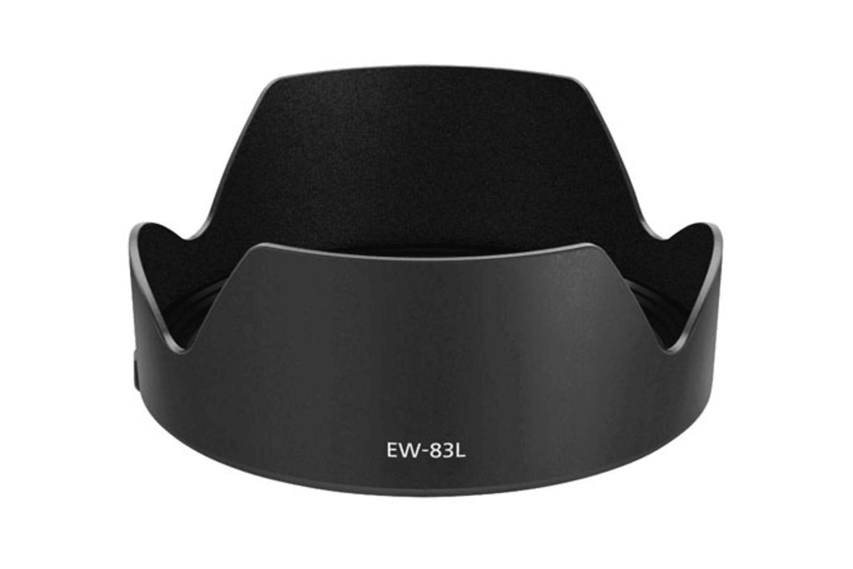 CELLONIC® EW-83L Sonnenblende für Objektiv Canon EF 24-70mm f/4L IS USM Blende Gegenlichtblende