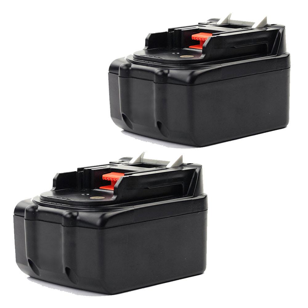 2x Batterie 14.4V, 3Ah, Li Ion pour Makita DMR110, DMR107 ,DMR108, BDF343, BMR102 ,DMR102, DMR105 - BL1415, BL1430, BL1450, BL1440, 194065-3 batterie de rechange pour outils électroportatifs