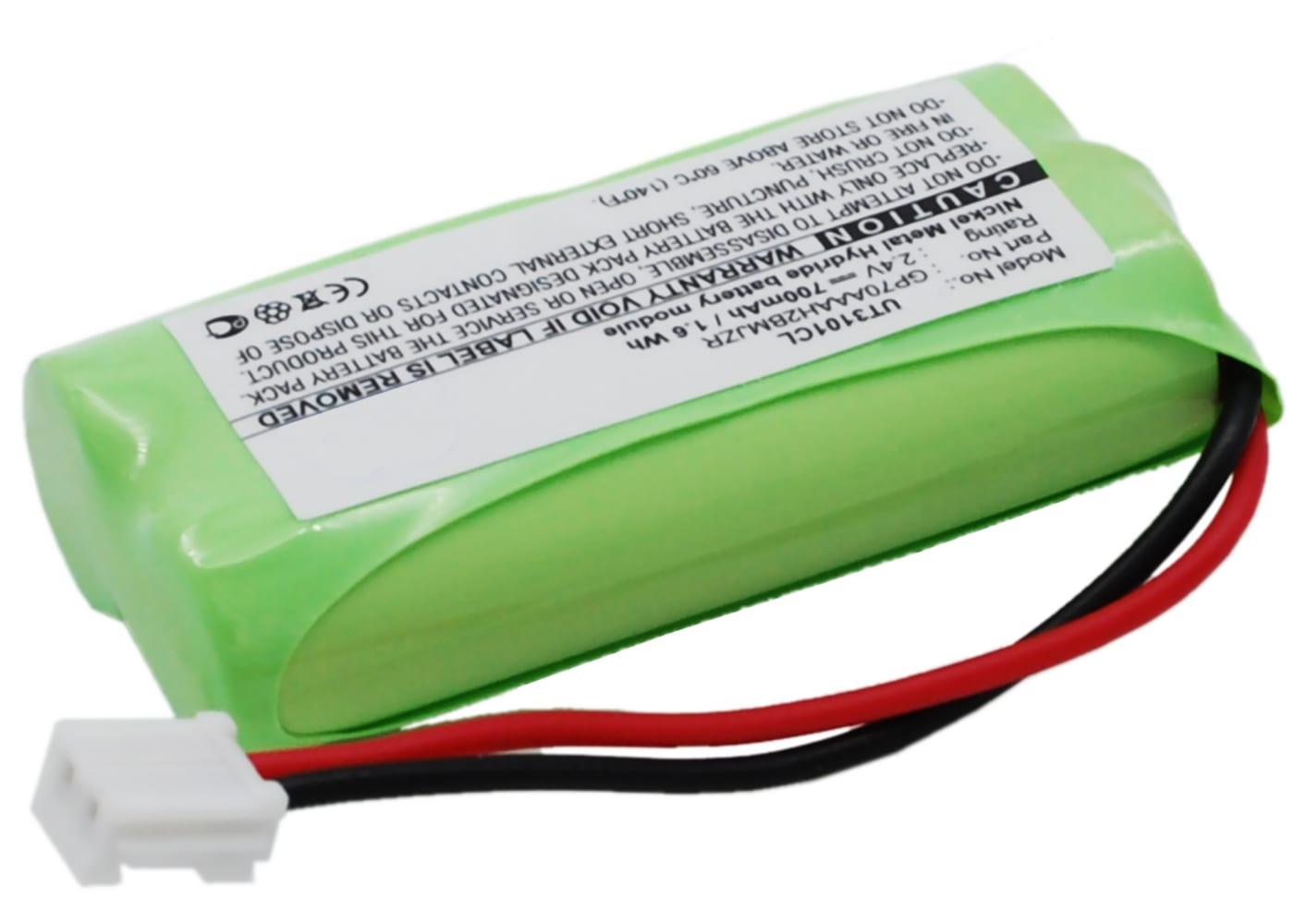 Batteria CPH-515D subtel® per cordless DeTeWe BeeTel 2000, General Electrics, Motorola B / L / K, Philips SJB, Uniden Elite / DECT, V Tech, Plantronics Calisto Pro Affidabile ricambio da 700mAh