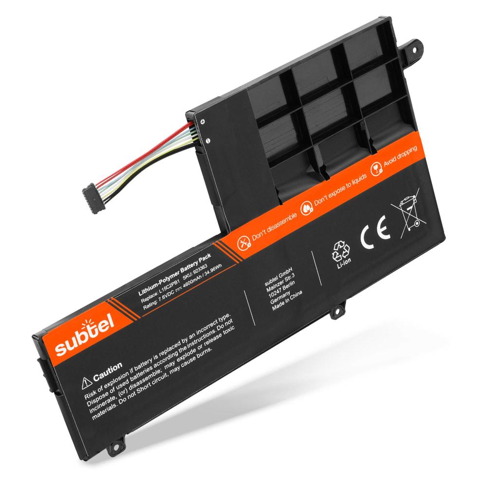 Batterie de remplacement pour ordinateur portable Lenovo Yoga 510-14AST / 510-14IKB / 510-14ISK / 510-15IKB / 510-15ISK - L15C2PB1 4600mAh