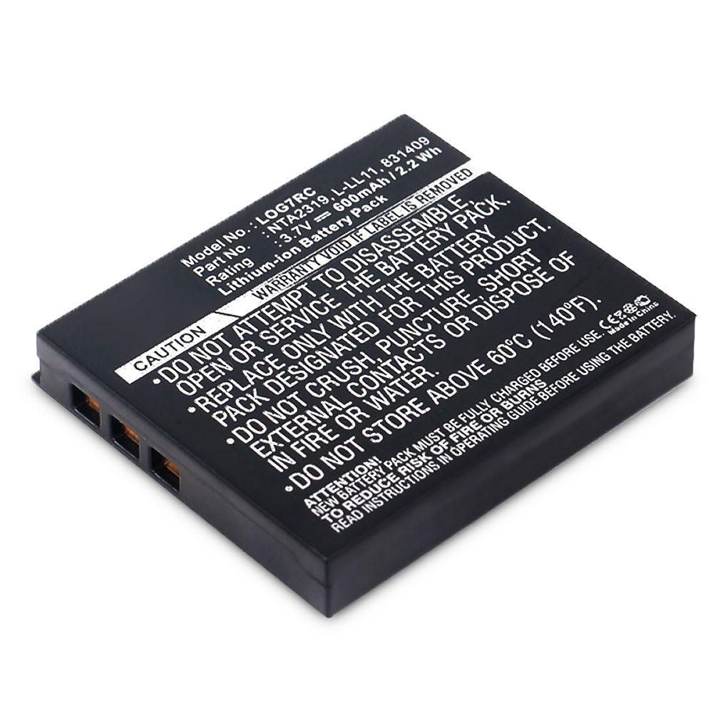 Akku für Logitech G7 Laser / MX Air / M-RBQ124 - 190310-1000,190310-1001,831409,831410,L-LL11,NTA2319 (600mAh) Ersatzakku