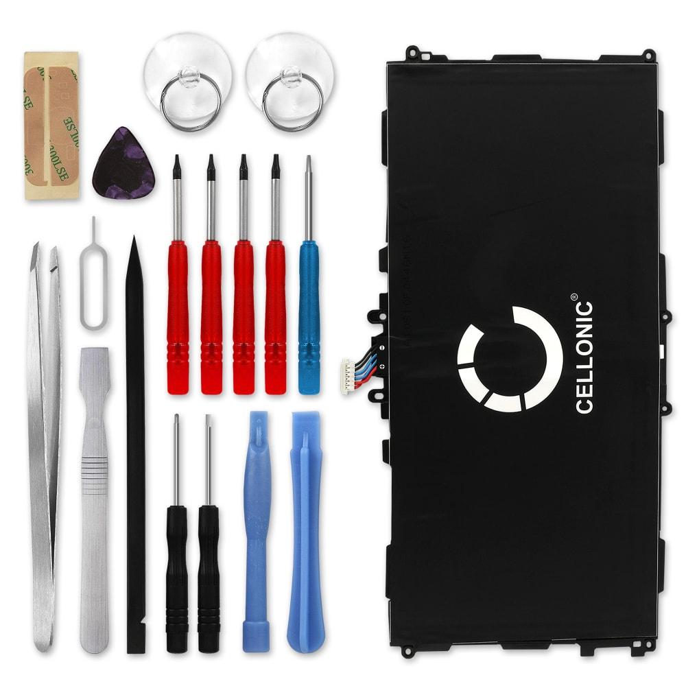 Batterie neuve de remplacement pour tablette Samsung Galaxy Tab 3 10.1 (GT-P5200/GT-P5210/GT-P5220) - T4500E 6800mAh + Set de micro vissage