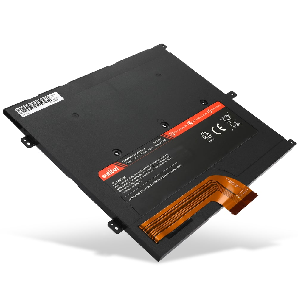 subtel® Laptop Battery for Dell Vostro V13 V130 P08S P16S T1G6P 2700mAh Notebook Replacement Battery Power Bank