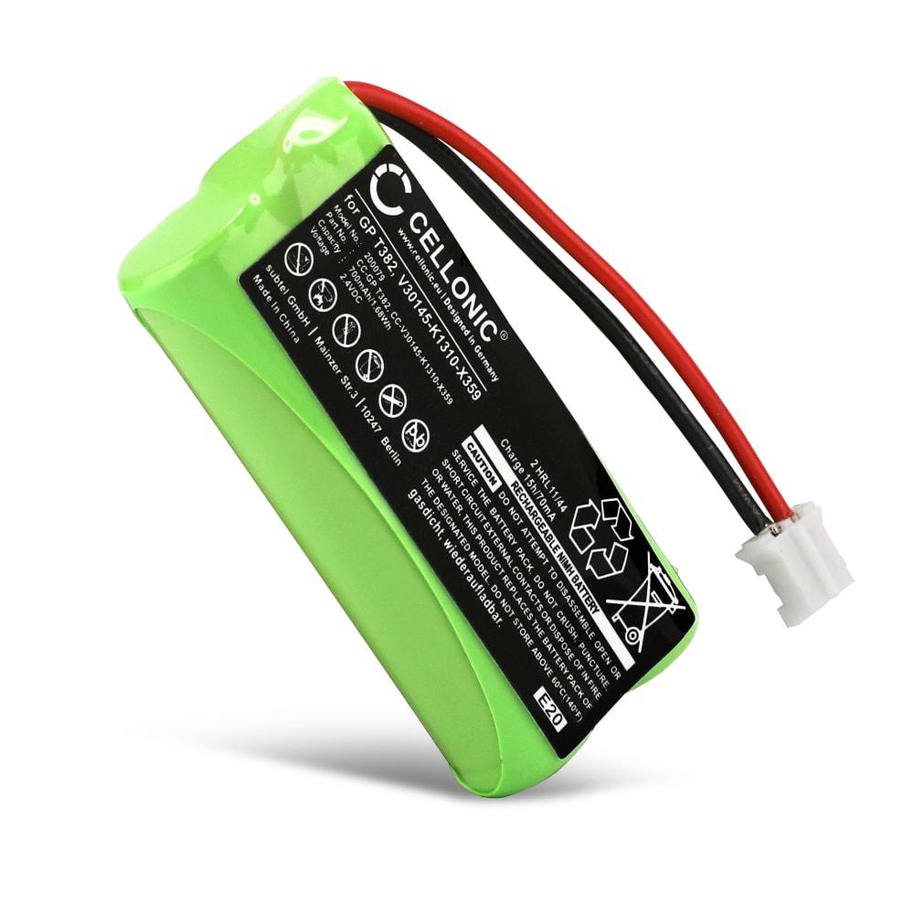 CELLONIC® uppladdningsbart V30145-K1310-X383,V30145-K1310-X359 batteri förSiemens Gigaset A120 A14 A140 A145 A160 A165 A245 A240 A260 A265, Universum CL15 SL15 trådlös telefon - telefonbatteri, ersättningsbatteri