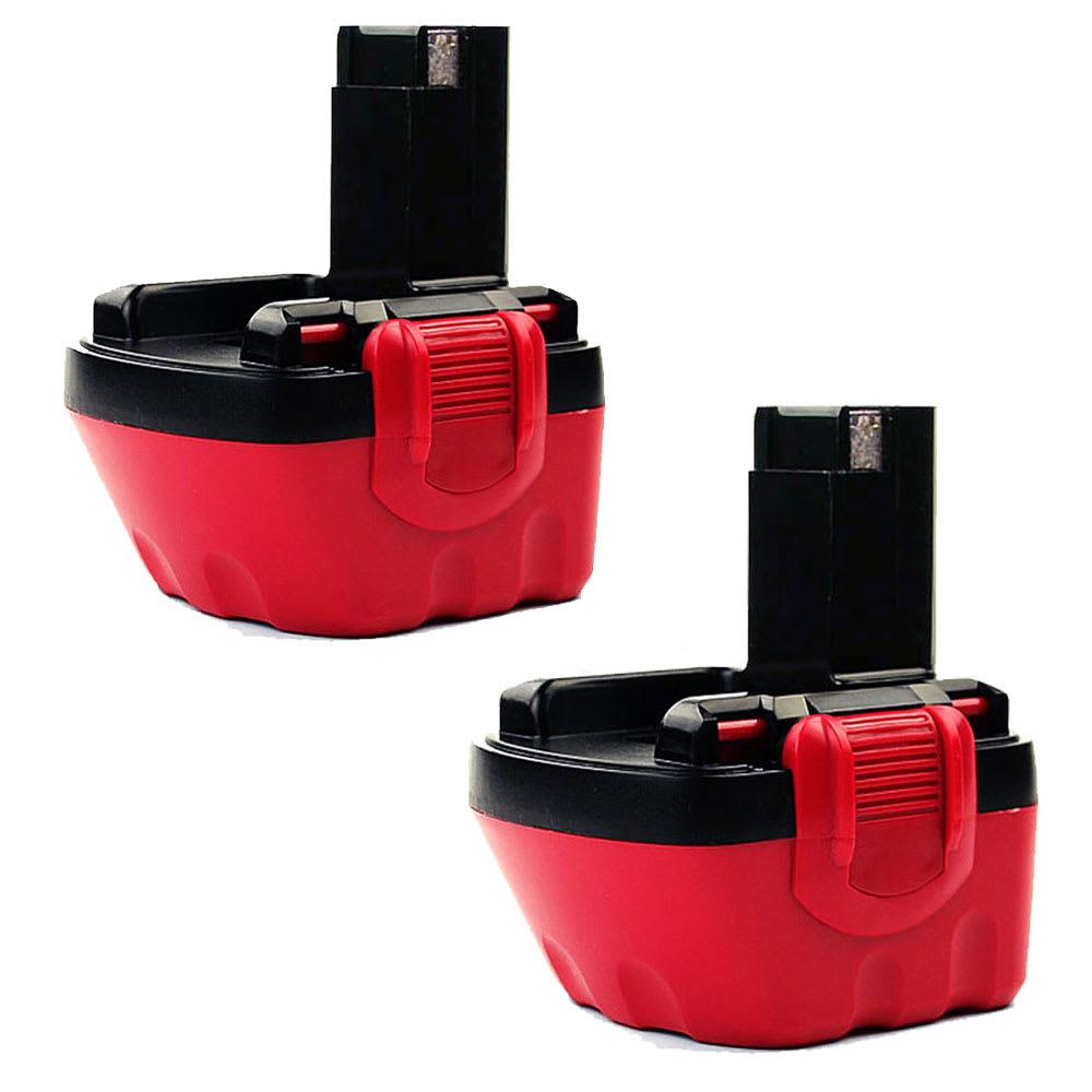 2x Batterie 12V, 3Ah, NiMH pour Bosch GSR 12V, GSR12,PSR12,PSR12 VE-2, PSR12-2, PSR 1200,GLI 12 V - 2607335261, 2607335531, 2607335274, BAT043 batterie de rechange pour outils électroportatifs