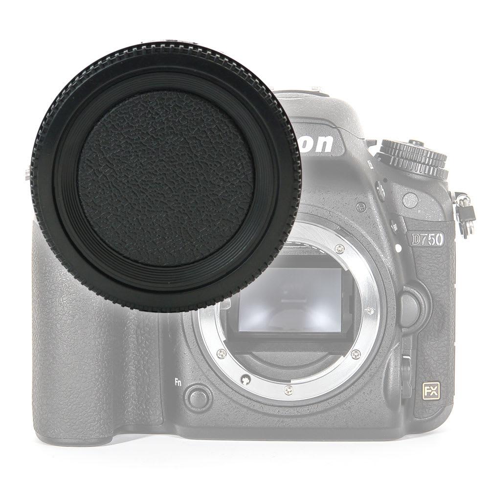 Gehäusedeckel Body Cap für Nikon D750 D3200 D5300 D5100 D810 D850 D7100 (BF-1B), Bajonettverschluss Kappe, Schutzdeckel Nikon F Mount (AF-S, AF-P, AI)