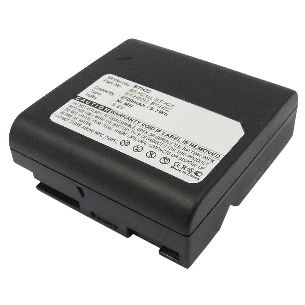 BT-H22 Battery for Sharp VLA10U VLA110U VLA111U VLAH130U VLAH131U VLAH150U VLAH151U VLAH160U VLAH161U VLE630U 2700mAh Digital Camera Battery Replacement Spare Battery Backup Power Pack