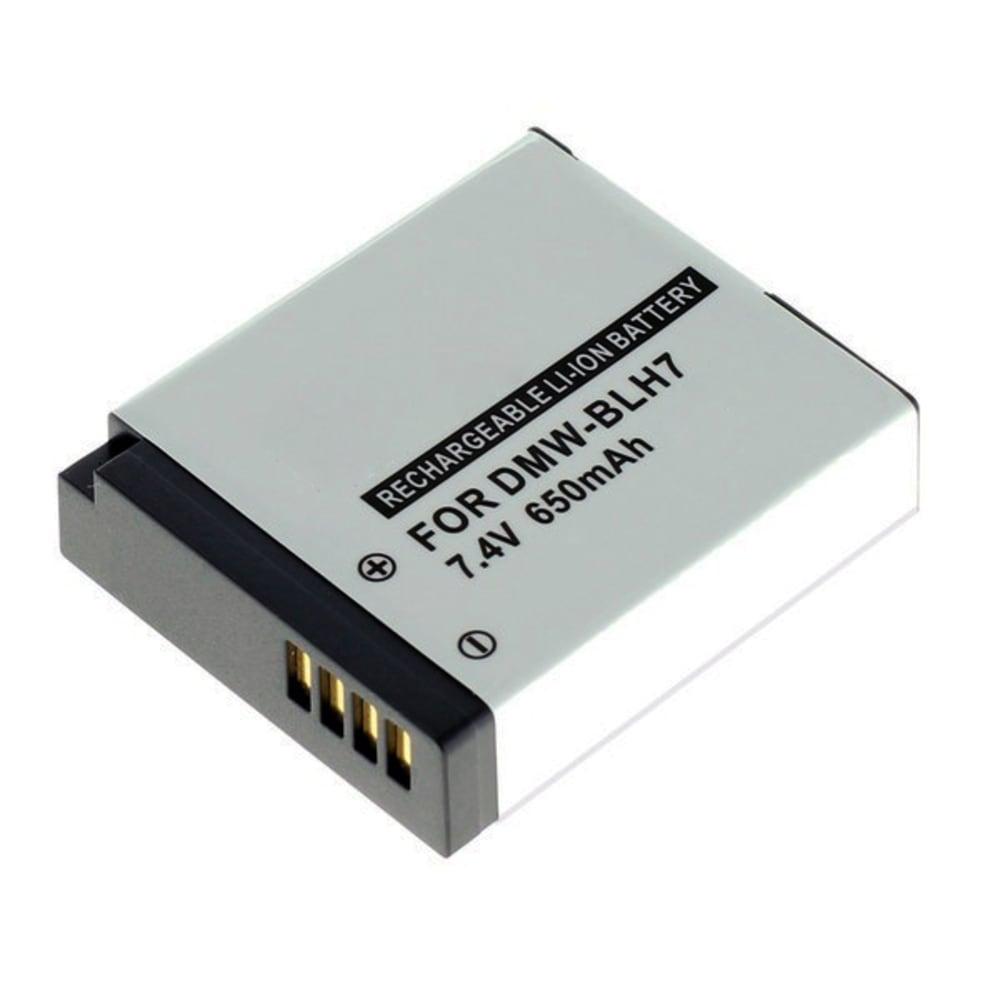 DMW-BLH7 Battery for Panasonic Lumix DMC-GF7, DMC-GX7, DMC-GM1, DMC-GM5, DMC-LX15, DC-GX800 650mAh Digital Camera Battery Replacement Spare Battery Backup Power Pack