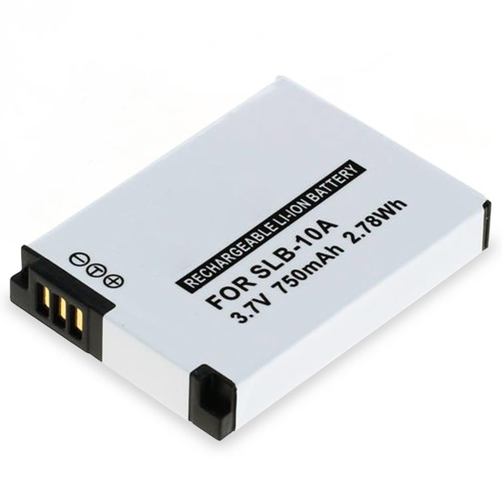 Batterie pour appareil photo Medion Life S47018 - 750mAh SLB-10A FJ-SLB-10A Batterie Remplacement