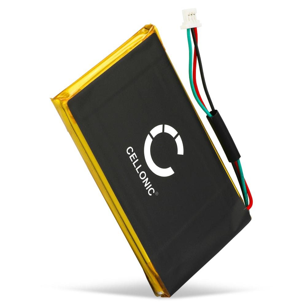 Batterie pour navigateur GPS Garmin Nüvi 775, 765, Nüvi 1300, Nüvi 1310, Nüvi 1340, Nüvi 1350, Nüvi 1370, Nüvi 1390, Nüvi 245W - 361-00019-12,361-00019-16 1250mAh