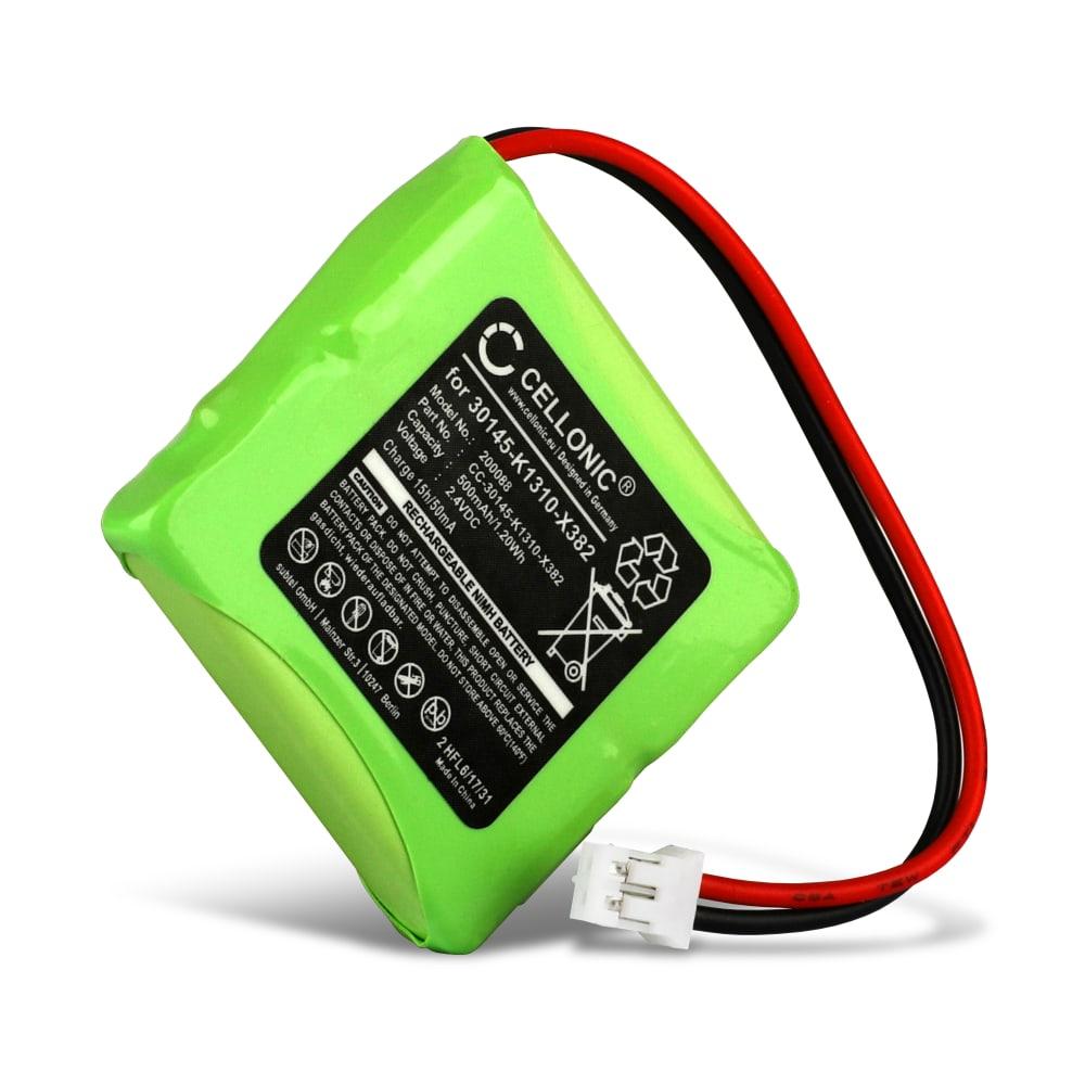 CELLONIC® Rechargeable Phone Battery for Siemens Gigaset E45, E450 SIM, E455 SIM, Swisscom Aton CL-102, Top S329 S30852-D1751-X1,V30145-K1310-X382 Battery Replacement 500mAh