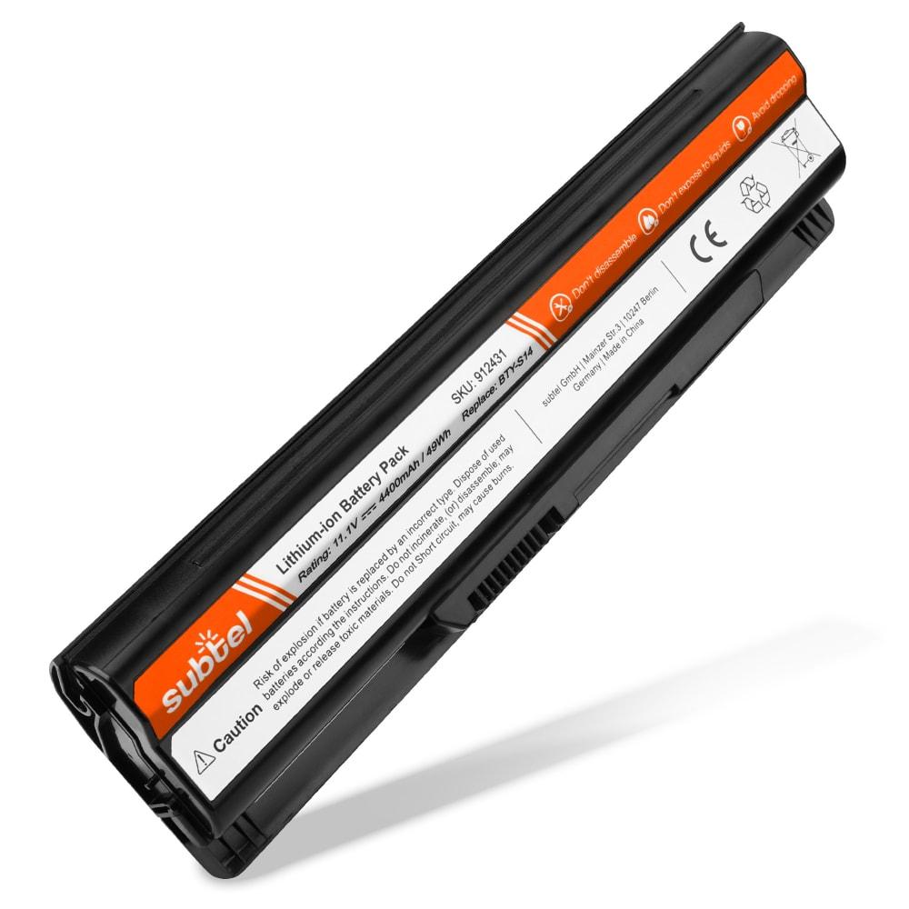 Batería para Medion Akoya E1312 / Akoya E1311 / Akoya E1315 / Akoya E6313 / Akoya P6512 - BTY-S14 / BTY-S15 (4400mAh) , Batería de Reemplazo