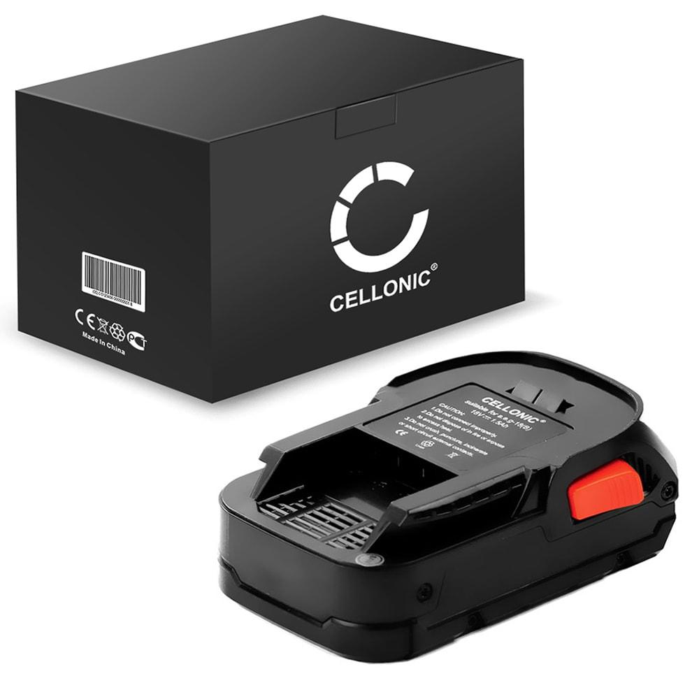 Batteria L1815 R, L1820 R, L1830 R, L1840 R per AEG BSB 18 c, BSB 18 CBL, BSS 18C 12Z,BSB18 G, OMNI 18C Affidabile batteria di ricambio da 1.5Ah ioni di litio senza effetto memorie Sostituzione