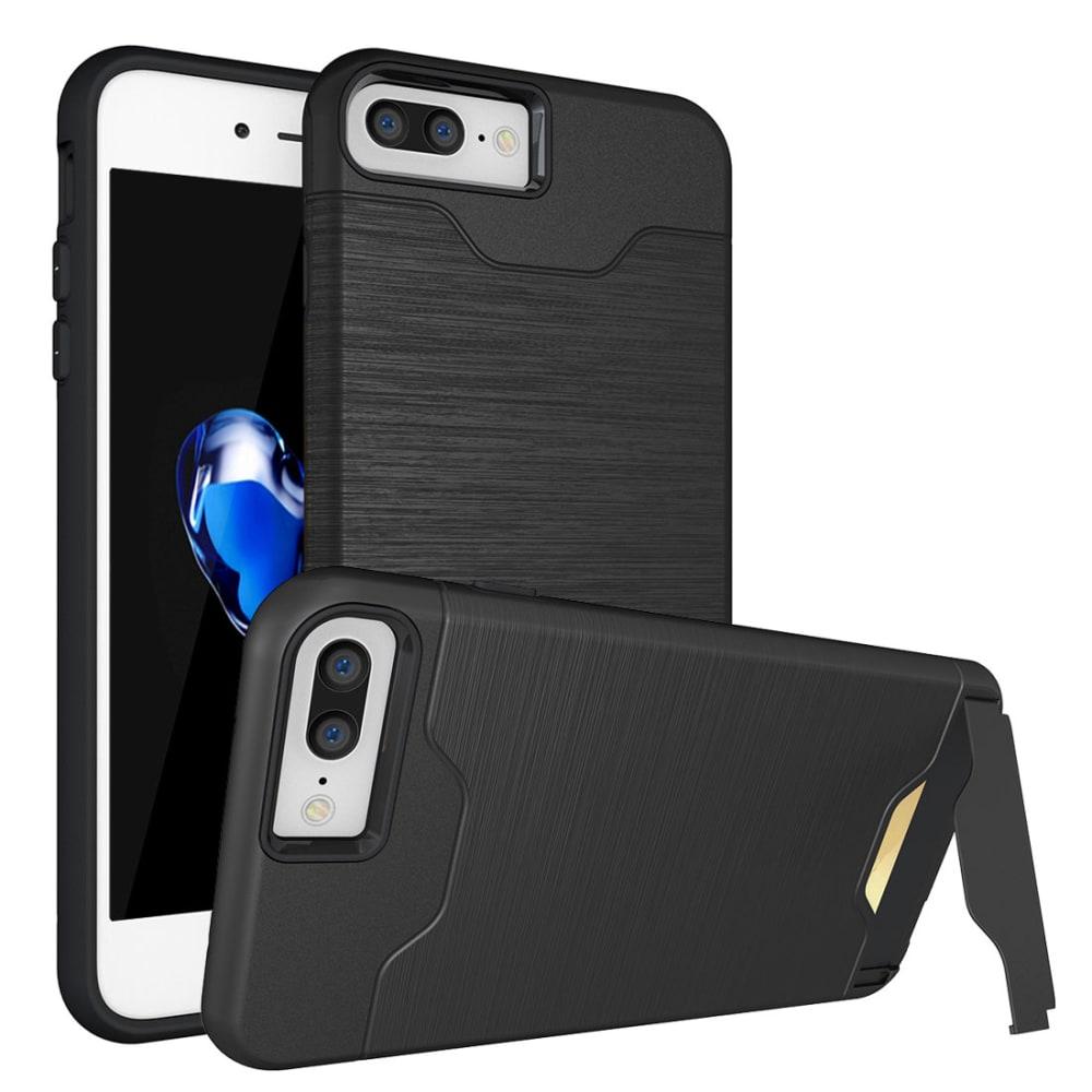 Backcover pour Apple iPhone 7 Plus - TPU, noir Etui,Housse, Coque, Pochette