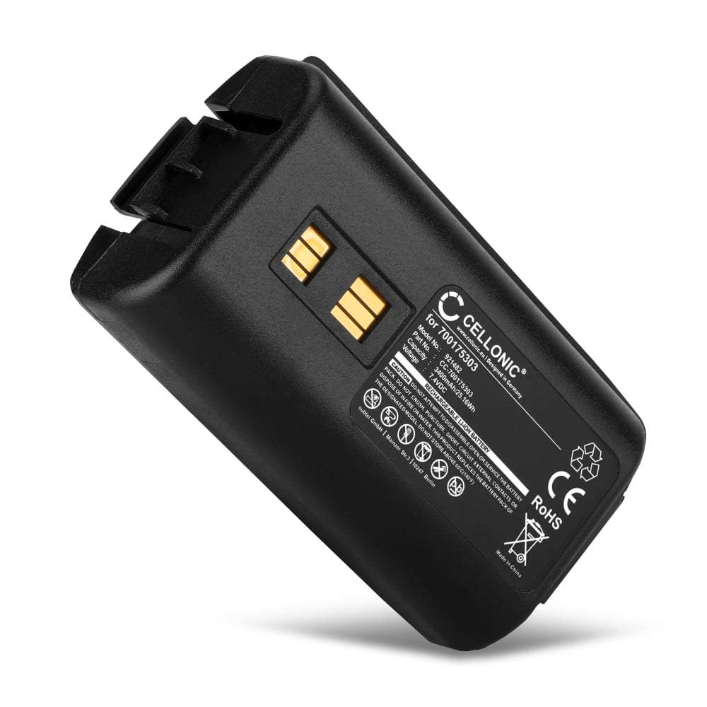 Batterie pour Datalogic Kyman, 94450105x, 944501088, 9445510xx - 700175303,94ACC1302 3400mAh
