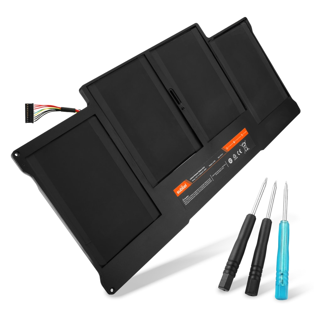 Batteria subtel® A1405/A1496 per MacBook Air 13 - A1396/A1466 (2010 - 2017) Affidabile ricambio da 5200mAh Sostituzione ottimale