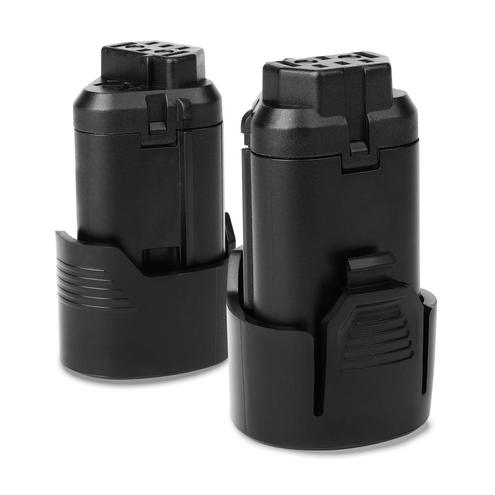 2x Batterie 12V, 1.5Ah, Li Ion pour AEG BS12c, BTS12C, BBH12, BS12C2, BSS 12C - L1215, L1215R, L1220, 3520, 4932, L1230 batterie de rechange pour outils électroportatifs