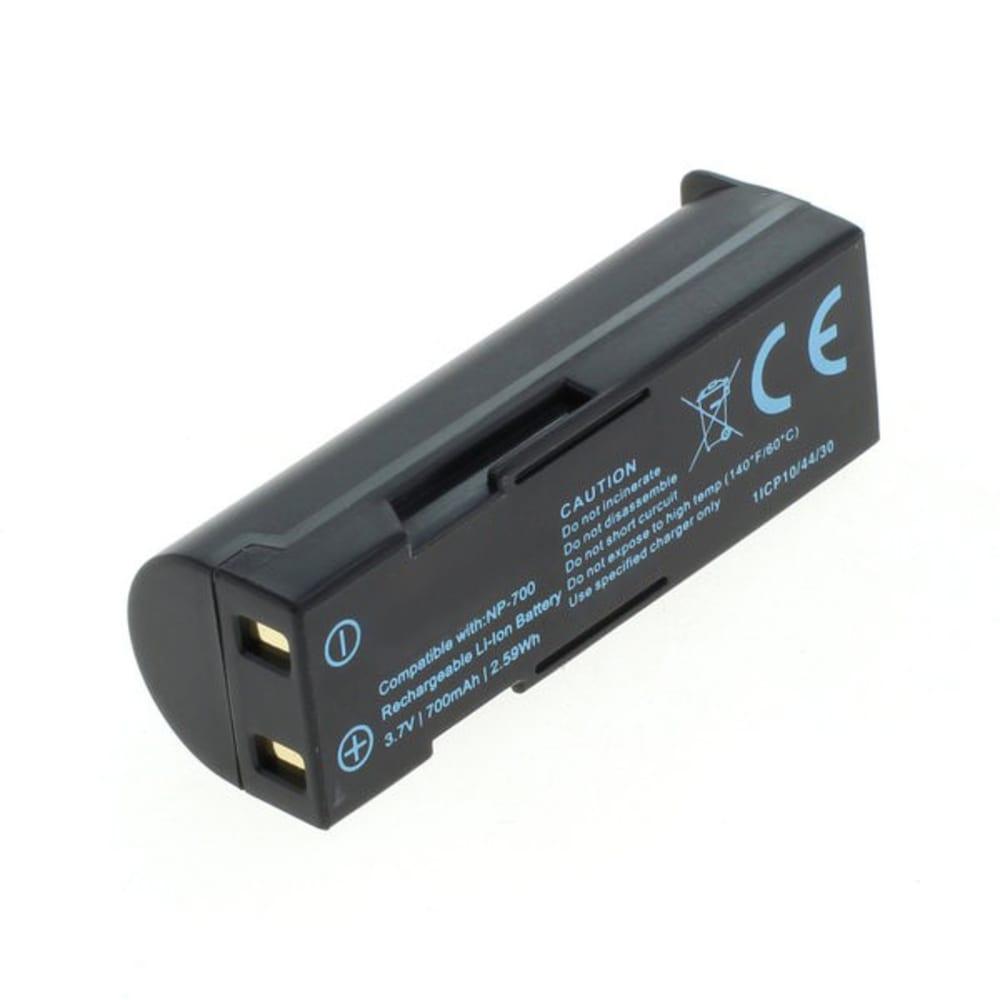 Batteria subtel® NP-700 D-LI72 SLB-0637 DB-L30 per Konica Minolta DiMAGE X50, X60, Optio Z10, L77, Xacti VPC-A5 Affidabile ricambio da 700mAh sostituzione