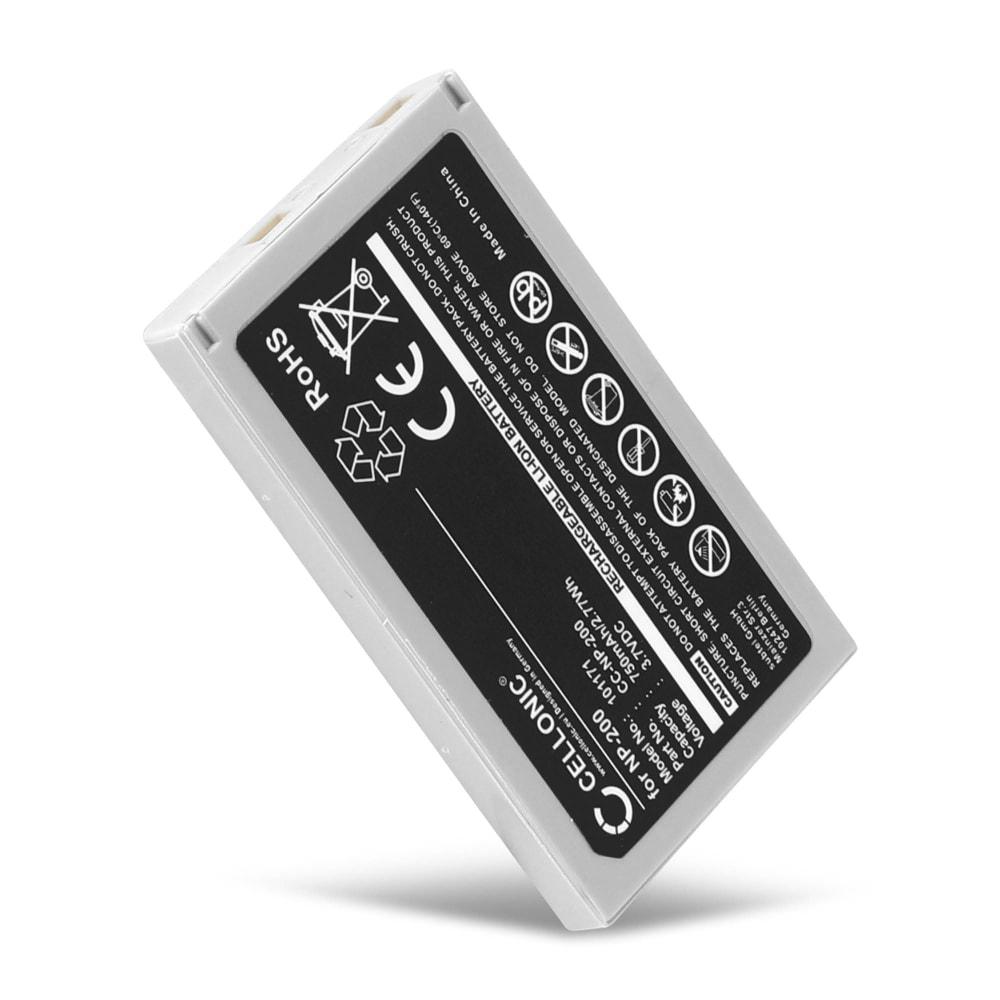 Batteria CELLONIC® NP-200 per Konica Minolta DiMAGE X DiMAGE Xg DiMAGE Xi DiMAGE Xt DiMAGE Xt BIZ Affidabile ricambio da 750mAh sostituzione