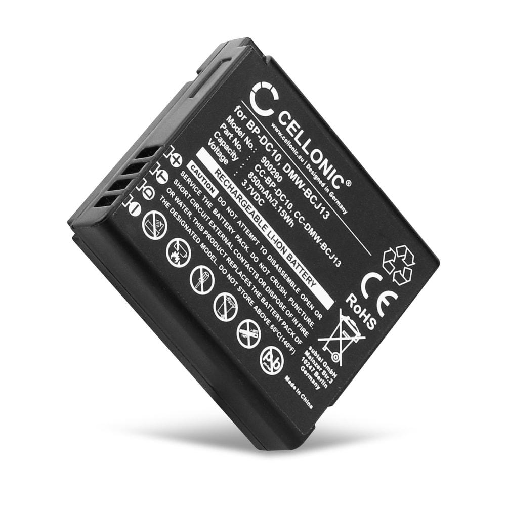 Batterij voor Leica D-LUX 5 D-LUX 6 V-LUX 2 V-LUX 3 Panasonic Lumix DMC-LX5 Lumix DMC-LX7 camera - 18719 18720 BP-DC10 BP-DC9E DMW-BCJ13E -BCJ13PP 850mAh Vervangende Accu voor fototoestel