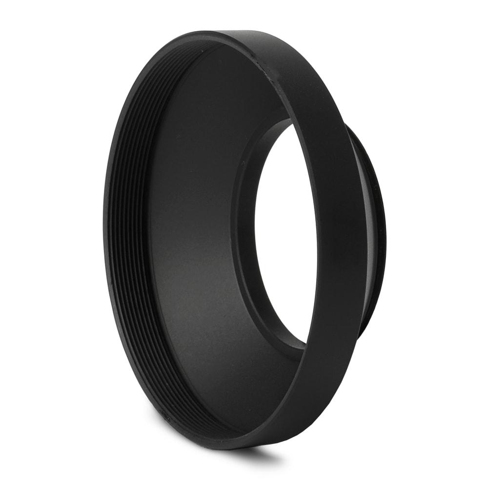 CELLONIC® Ø 40,5mm Black Weitwinkel Gegenlichtblende für Objektiv Ø 40,5mm Sonnenblende Blende