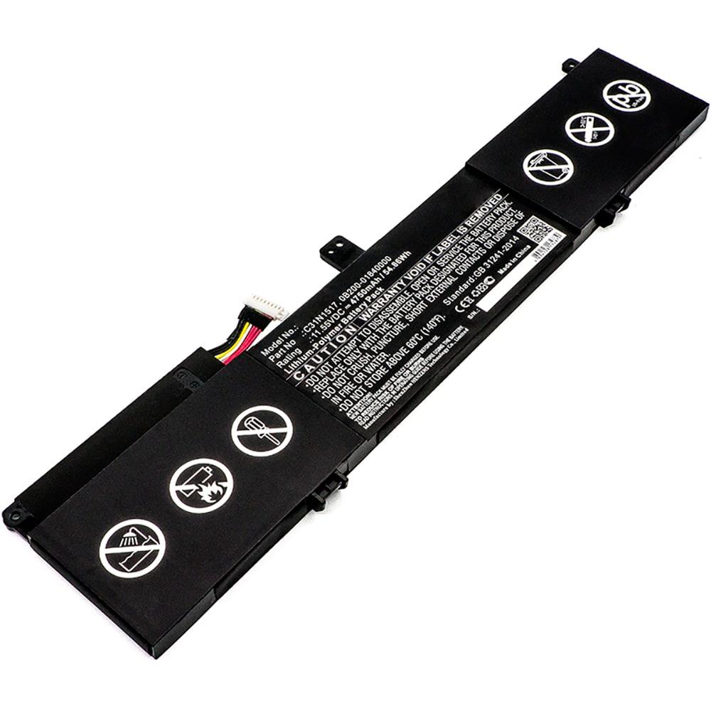Batterie de remplacement pour ordinateur portable Asus VivoBook Flip TP301UA / TP301UJ - C31N1517 4750mAh