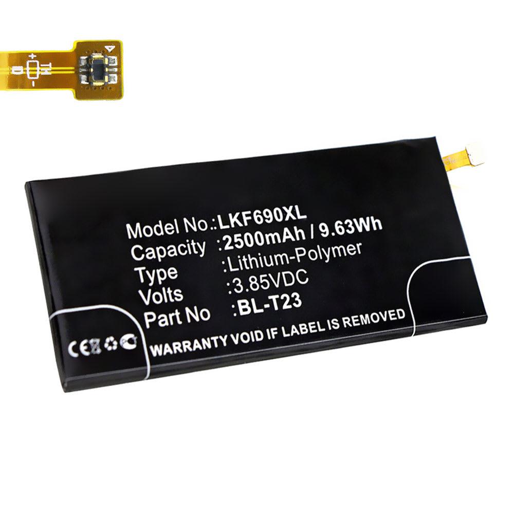 Batterie pour téléphone portableLG X Cam - BL-T23, 2500mAh interne neuve , kit de remplacement / rechange