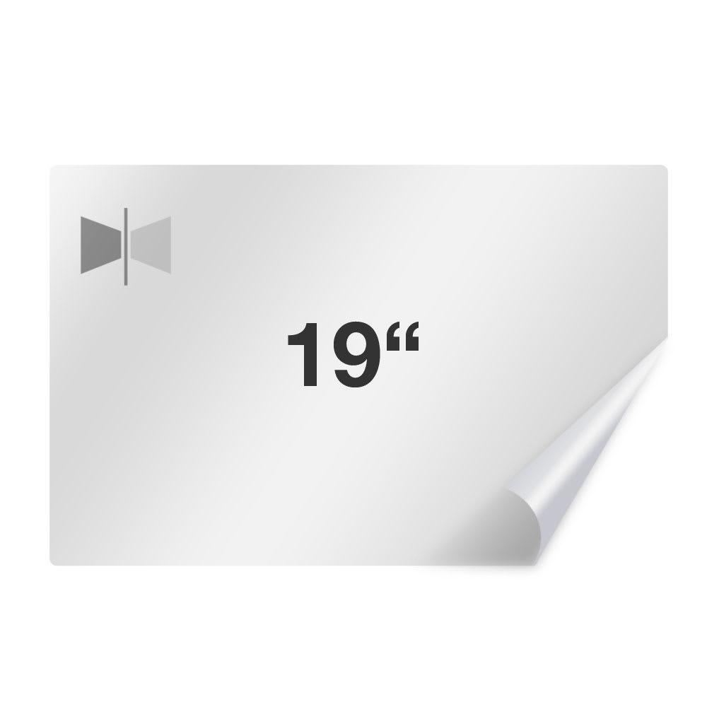 Displayschutzfolie für 19.0