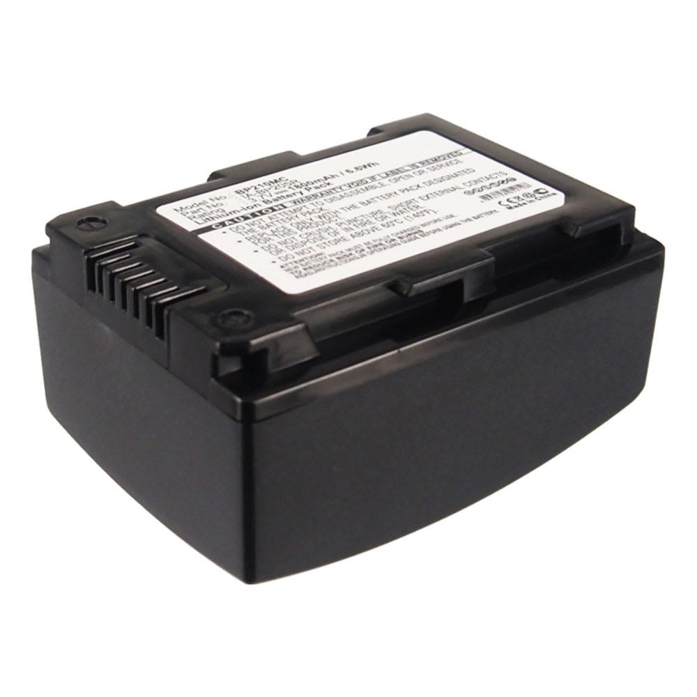 Batteria subtel® IA-BP105R IA-BP210R IA-BP210E per Samsung HMX-F90 HMX-F80 HMX-F800 HMX-F900 HMX-H300 HMX-H400 SMX-F70 SMX-F50 HMX-S10 HMX-H204 HMX-F810 Affidabile ricambio da 1800mAh sostituzione