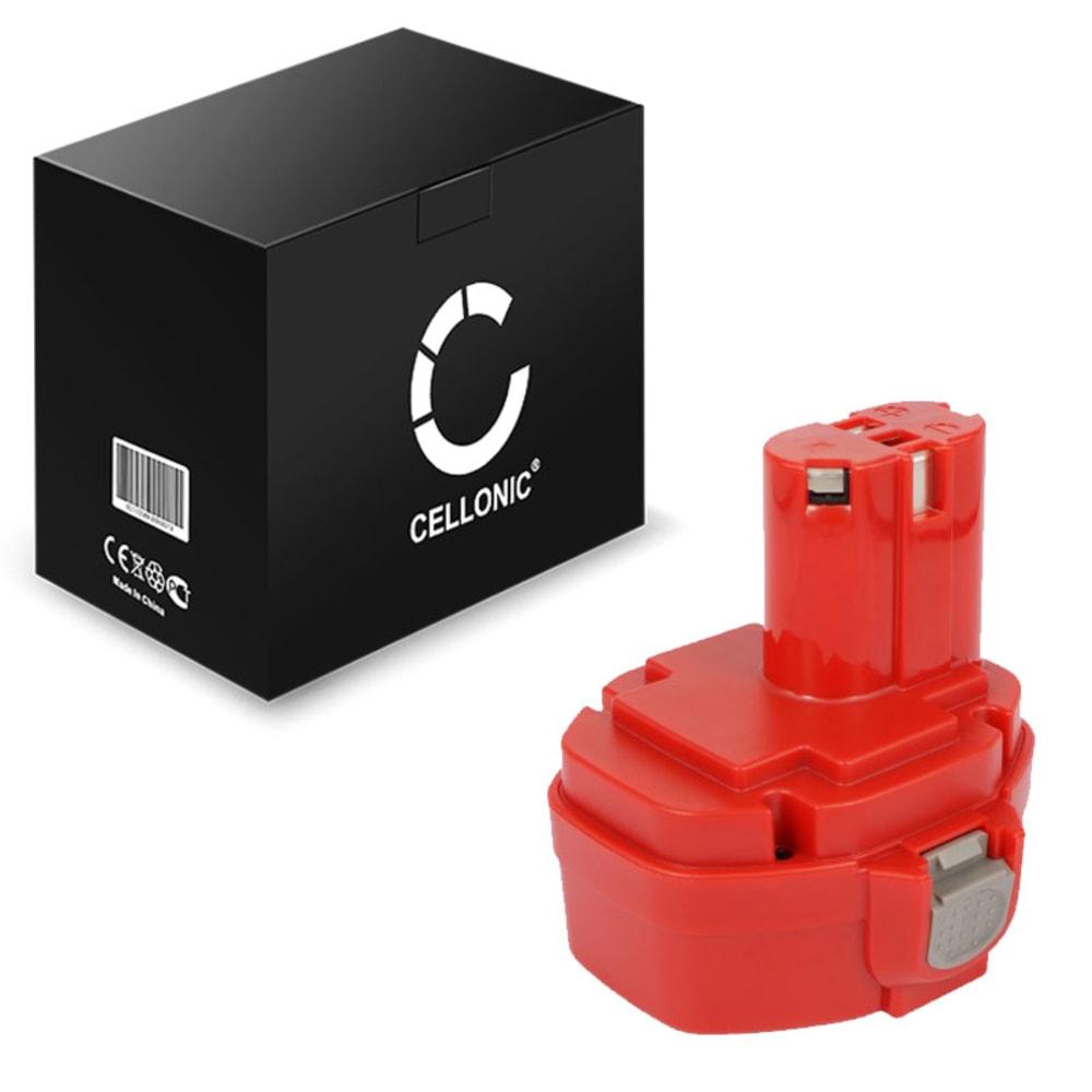CELLONIC® 1434, 1422, 193060-0, 1420, 193101-2, 1435, 1433 batteri för Makita BMR100, 6281D, 6337D, 6280D, 6271DWAE, 6347D, 6339D trådlösa verktyg med 14.4V, 3Ah och NiMH