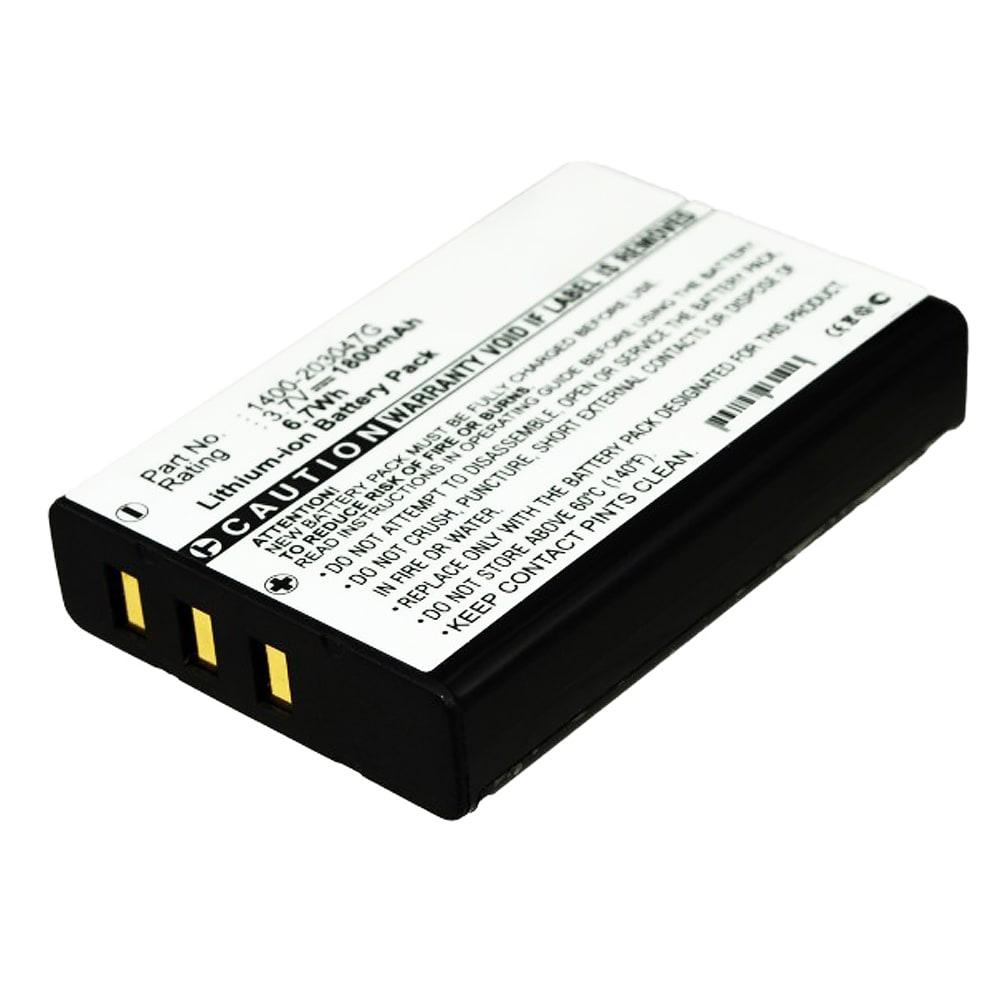 13224,1400-203047G,1400-900009G Batteri för Gicom GC9600, Gicom LK9100, LK9150, Opticon PX-35, Unitech HT6000, HT660e, Unitech PA600 - 1800mAh Laddningsbart ersättningsbatteri eller reservbatteri