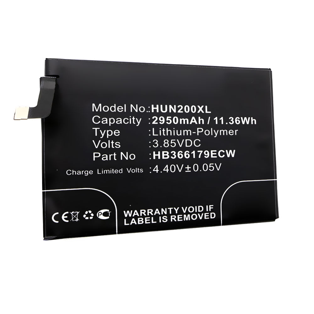 Batterie pour téléphone portableHuawei Nova 2 / Nova 2 Dual SIM - HB366179ECW, 2950mAh interne neuve , kit de remplacement / rechange