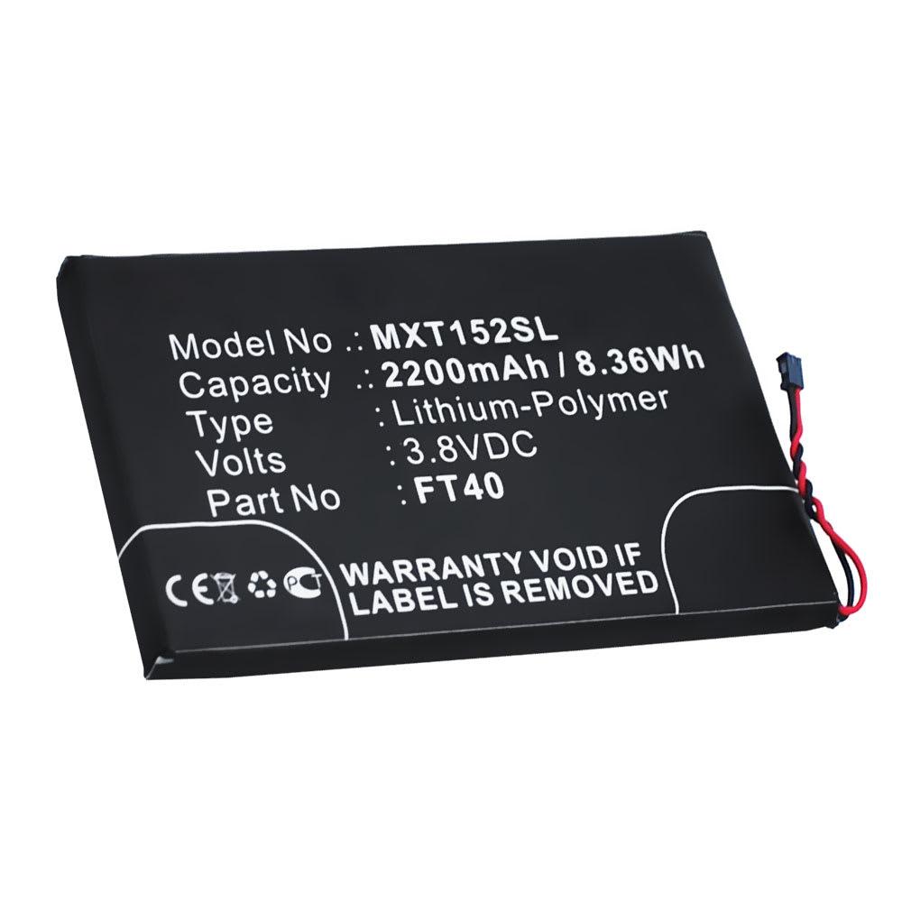 Akku für Motorola Moto E2 / Moto E 2. Generation Handy / Smartphone - Ersatzakku FT40 2200mAh , Neuer Handyakku